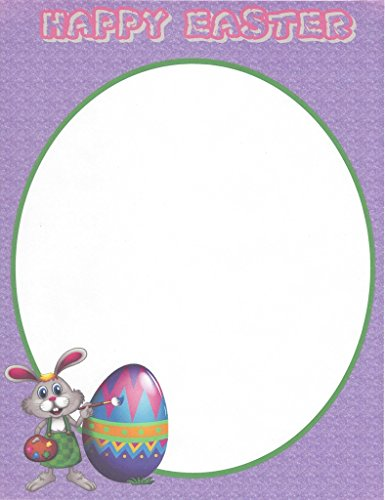 Stationery Bunny Easter (Happy Easter Bunny & Egg Stationery Printer Paper 26 Sheets)