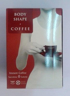 La forme du corps de café instantané 15g mixtes. Paquet 10sachets