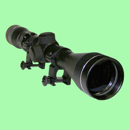 Tactical 3-9x40 Optics R4 Reticle Crosshair Air Sniper Hunti