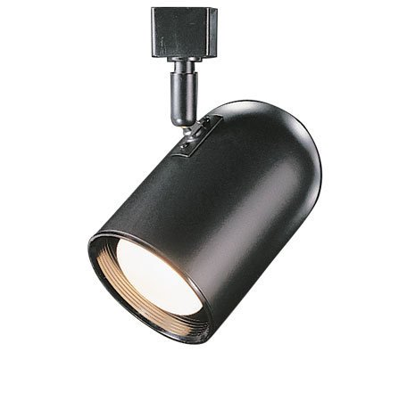 Round Back with Baffle Luminaire Line Voltage Track Head Track Type: Juno Series, Color: Black