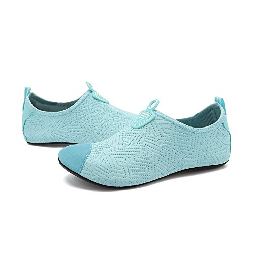 Chaussettes De Natation Mens Bleu Plonge D'eau Chaussures En Apne Clair Yoga Unisex Schage Bybetty Respirant Femmes Plage Rapide qpOUHxw