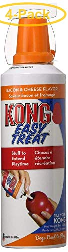 KONG Stuff'n Easy Treat - Bacon & Cheese Recipe 8 oz - Pack of 4