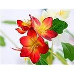 ZJJZH-Artificial-Decorative-Flowers-Simulation-Flower-Home-Small-Fresh-Decoration-Elegant-Small-Flowers-Freesia-Living-Room-Elegant-Flower-Table-Coffee-Table-Decoration-Artificial-Flowers