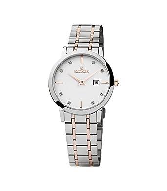 Kronos - Elegance Ladies Bicolor 974.8.43 -Reloj de seÑora de cuarzo - brazalete de acero - color esfera: blanca
