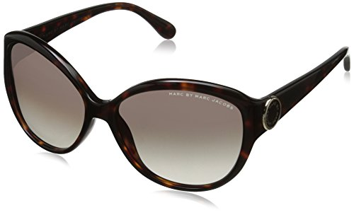 Marc by Marc Jacobs Women's MMJ384S Round Sunglasses, Havana, 57 - Jacobs Round Sunglasses Marc