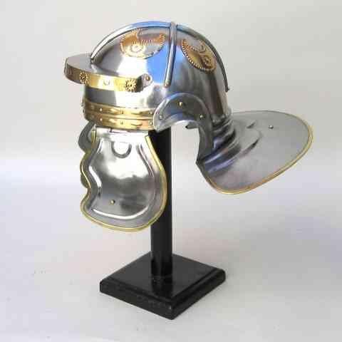 Benzara Costume Armor Helmet Roman Imperial Italic