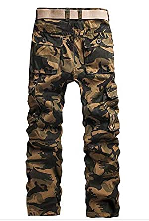 Multi Color Cargo Trousers Pant For Men