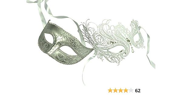 Halloween Mask Mask for Men Wedding Couple Mask Party Mask Couple Masquerade Mask Silver Rose Gold Masquerade Mask Mask for Women