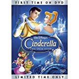 img - for Cinderella (Two-disc Special Edition) Ilene Woods (Actor), James Macdonald (Actor), Clyde Geronimi (Director), Hamilton Luske (Director) | Rated: G | Format: DVD book / textbook / text book