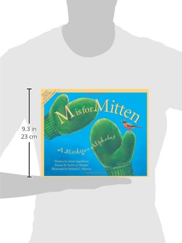M Is For Mitten: A Michigan Alphabet (Discover America State by State) by Sleeping Bear Press