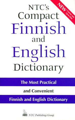 Ntc's Compact Finnish and English Dictionary (English and Finnish Edition)