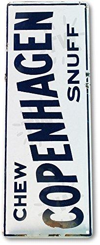 TIN SIGN A291 Chew Copenhagen Snuff Tobacco Smoke Shop Store Bar Metal - Vintage Copenhagen Up Times