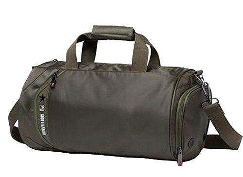 Mode Sport Duffel Bag Sporttasche Sporttasche Reisetasche Grün