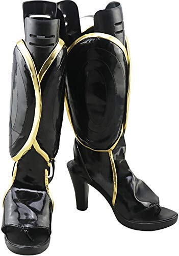 Chaussures Gsfdhdjs For Yorimitsu No Grand Order Fate Bottes Cosplay Minamoto Servant nrng7ZE