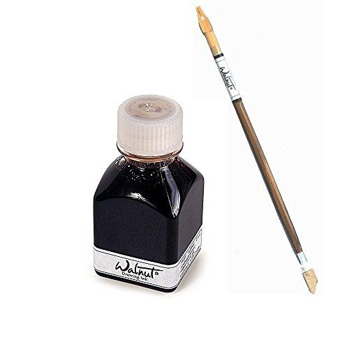 (Walnut Drawing Ink 2.6 Oz And Stick Set)