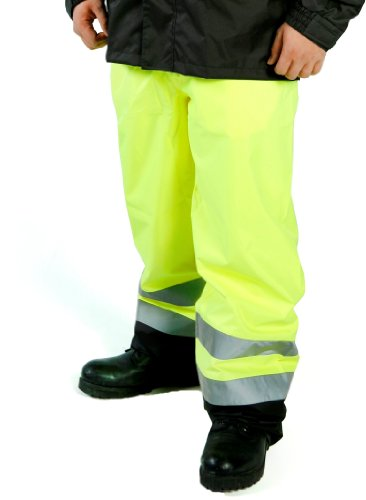 Diamond 8503 PU-Coated Polyester High-Visibility Trouser,