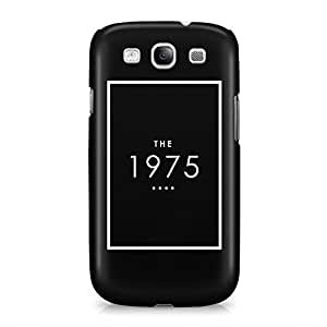 Creative The 1975 Black Logo Hard Plastic Snap-On Case Cover For Samsung Galaxy S3
