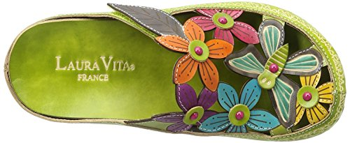 Vita Vert 11 Women's Green Billy Laura Clogs RqHwUdSSx