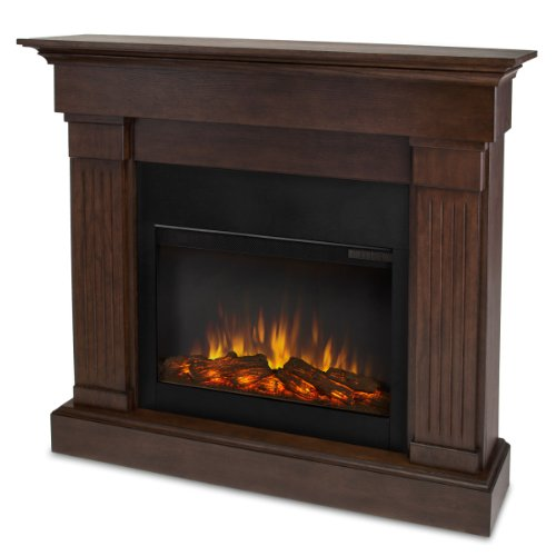 Real Flame 8020E-CO Crawford Electric Fireplace, Chestnut Oak Review