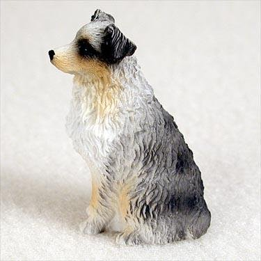 Australian Shepherd, Blue, Docked Tiny Ones Dog Figurines (2 (Australian Shepherd Figurine)