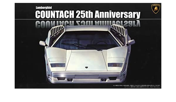 Amazon Com Fujimi Rs 60 Lamborghini Countach 25th Anniversary 1 24