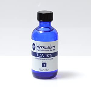 Trichloroacetic Acid - TCA Peel 10% Medical Grade 1oz. 30ml (Level 1 pH 1.5)