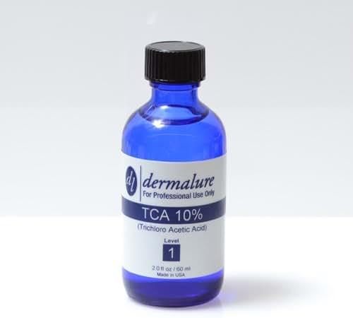Trichloroacetic Acid - TCA Peel 10% Medical Grade 1oz. 30ml (Level 1 pH 1.5)