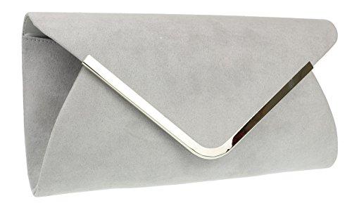 Clutch Envelope Grey HandBags Envelope Envelope Grey Bag Girly Bag HandBags Girly HandBags Clutch Girly OZPpvnqw