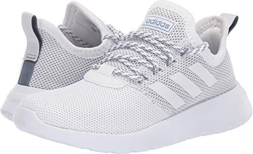 adidas Women's Lite Racer Reborn, White/raw Grey, 6.5 M US