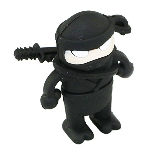16GB Falta Ninja Modelo Pen Drive USB Flash Drive Tarjeta Flash Cartoon U Disco Flash Memory Stick