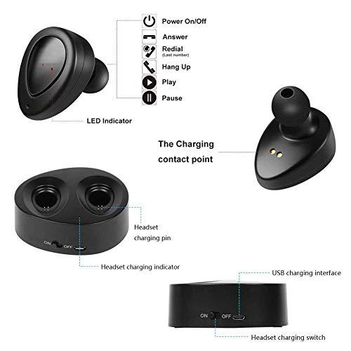 (Renewed) Chevron C160 Evolve Bluetooth Earphones with Mic (Black)