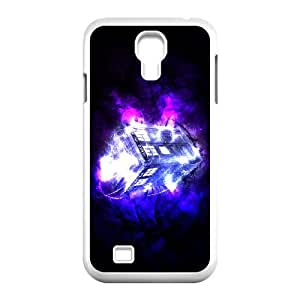 Doctor Who Samsung Galaxy S4 90 Cell Phone Case White TPU Phone Case SV_252775