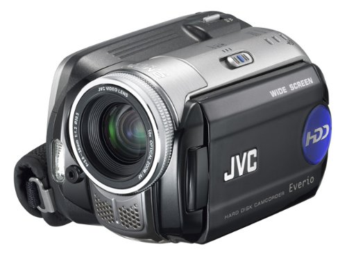 JVC Everio GZMG77 2.0MP CCD 30GB HDD Camcorder with 10x Optical Zoom