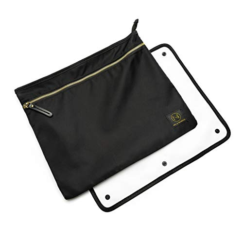 Wet/Dry Bag for Breast Pump Parts with Staging Mat  