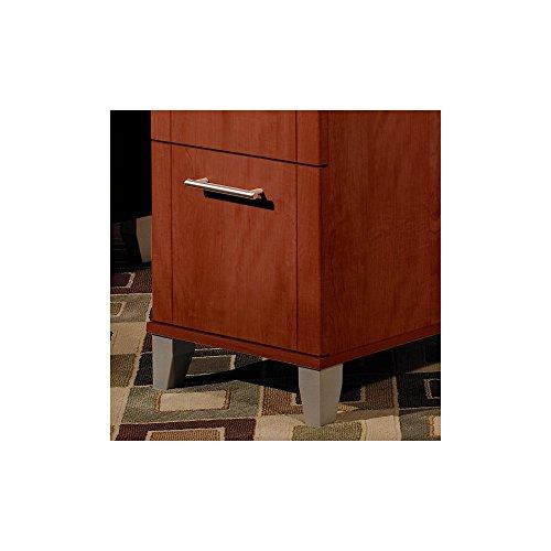 Somerset 71w L Shaped Desk With Hutch In Hansen Cherry