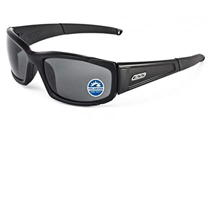 4f1d553493 Amazon.com  ESS Eyewear CDI Polarized Mirror Gray Glasses 740-0529 ...