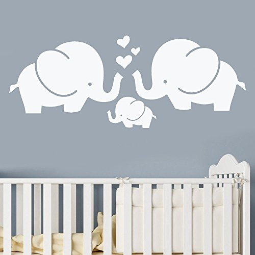 Removable Wall Sticker Clearance Sale, Libermall Art Vinyl Mural Elephant Wall Stickers Children's Room Decor Creative Wall Decal Sticker, Best for Home Decor Cute Animal Wallpaper by Libermall Home Decor (Image #1)