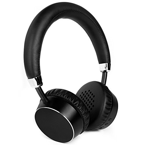 Meidong E6ANC Bluetooth Headphones Active Noise Cancelling Headphones Wireless Stereo headphones with Microphone, Ergonomic Design for Kids Adult–Black