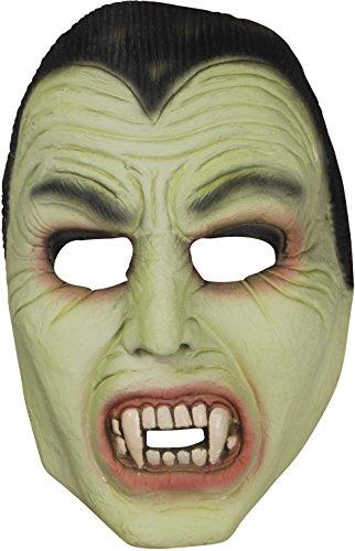 Loftus International Star Power Dracula Glow in The Dark Half Mask, Green Black, One Size Novelty Item]()
