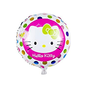 4377eb691c38 Hello kitty 18inch Round Foil Party Helium Balloon Themed Birthday Party  Decorations for Wedding Decoration Birthday