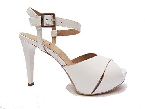 Nero Giardini , Sandales pour femme blanc Bianco 38