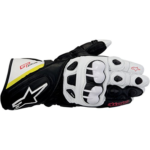Alpinestars GP Plus Gloves 2013 Model Black/White/Yellow/Red M Medium