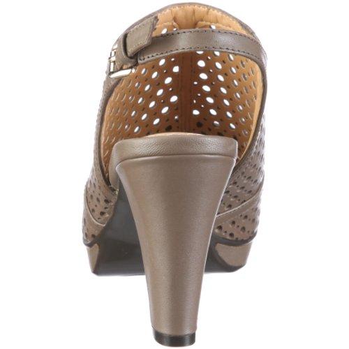 Naturalizer 224555 48524001 para vestir mujer GINGER Marrón de Sandalias de cuero r1FTrSxq