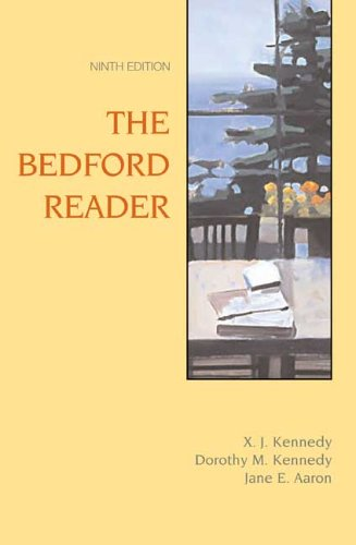 The Bedford Reader, Ninth Edition