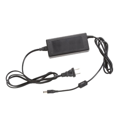 Kichler 10190BK48 LED Power Supply 24V 48W Plug-In Power Supply, Black Material (Not Painted)