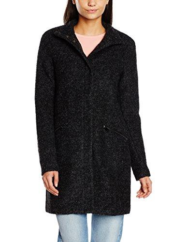 Vero Moda Women's Coat Grey (Dark Grey Melange)