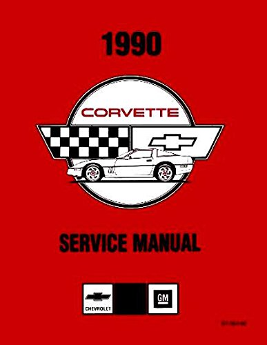 A MUST FOR OWNERS, MECHANICS & RESTORERS 1990 CORVETTE FACTORY REPAIR SHOP & SERVICE MANUAL IN A MASSIVE 2 VOLUME SET - INCLUDES; 1990 Hatchback, '90 Convertible