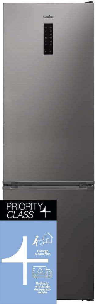 Sauber - Frigorífico Combi Serie 7-200I Tecnología NOFROST - Eficiencia energética: A+++ - 200x60cm - ENTREGA EN DOMICILIO