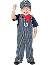 Costumes Baby's Train Engineer Toddler Costume