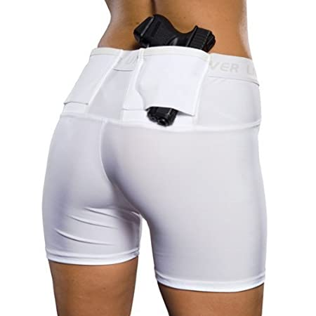 Women's Concealment Shorts by UnderTech Undercover (Large, Black)